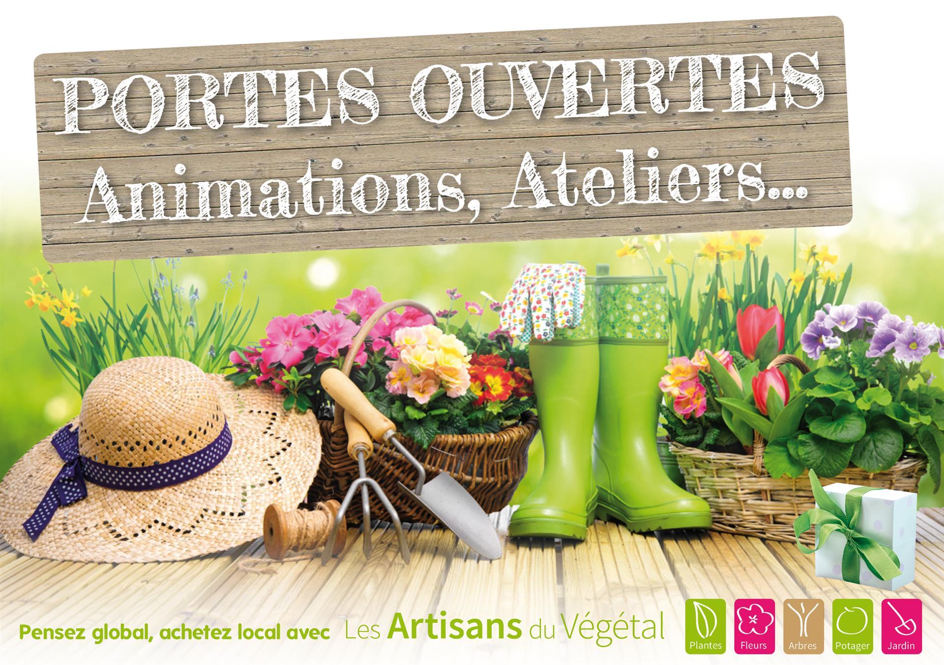 Ce week-end, chez vos Artisans du Végétal...